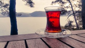 black tea with a view
